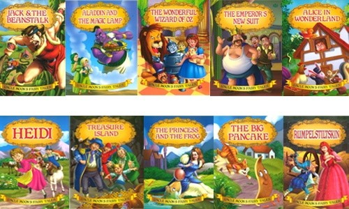 Uncle Moons Fairy Tales Set of 10 Books