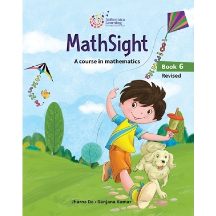 Indiannica Learning MathSight A Course In Mathematics Book 6 (Revised  Edition 2019)
