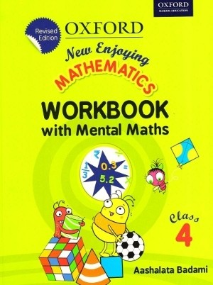Oxford New Enjoying Mathematics Workbook Class 4