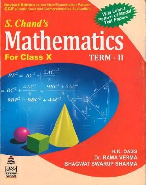 Mathematics For Class 10 Term-2