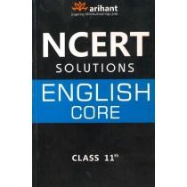 Arihant NCERT Solutions English Core Class 11