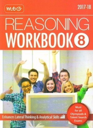 MTG Olympiad Reasoning Workbook Class 8