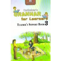 Madhubun Grammar For Learners Solution Book Class 3
