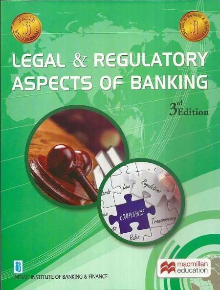 Macmillan Legal & Regulatory Aspects of Banking