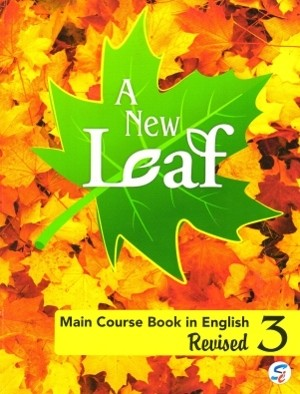 Sapphire A New Leaf Main Course Book in English For Class 3