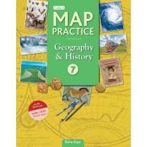Ratna Sagar Updated Map Practice book Class 7