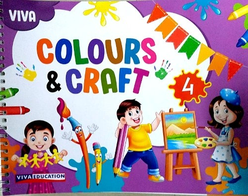 Viva Colours And Craft For Class 4